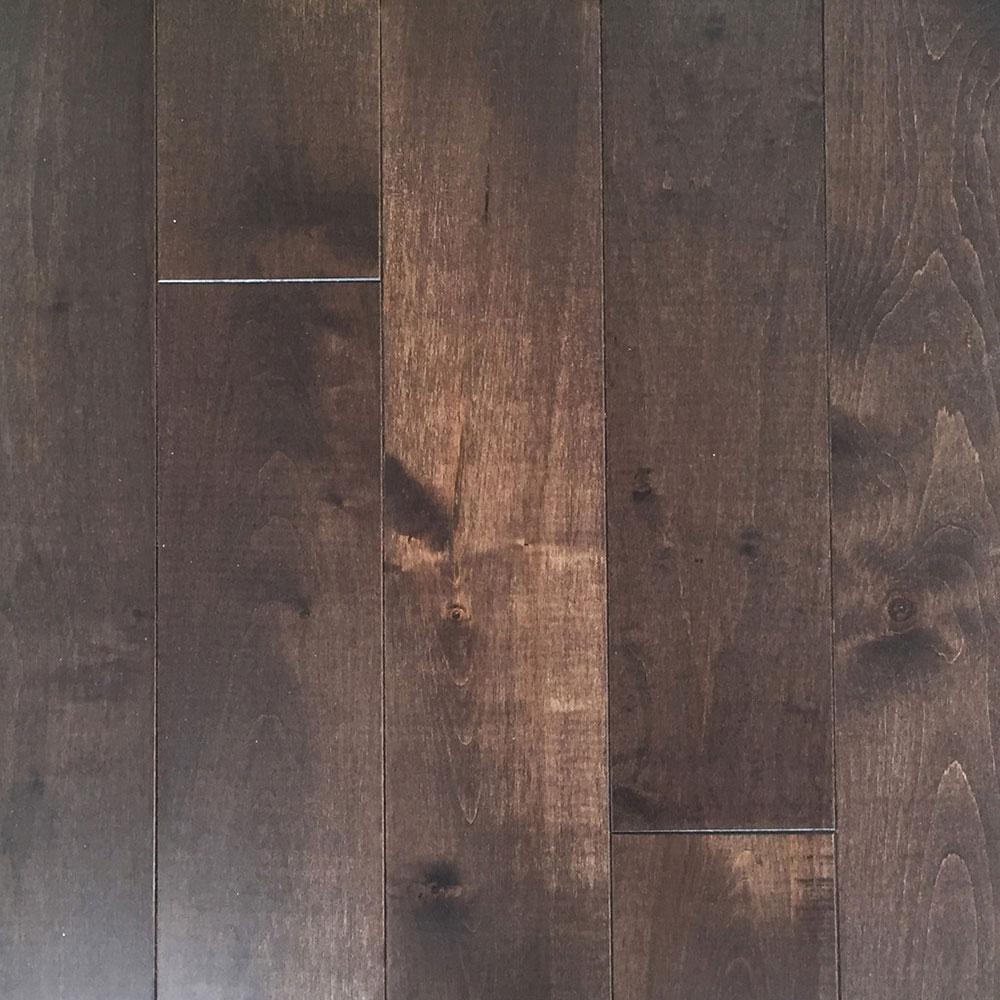 Mullican castillian 5 inch solid oak coffee bean m17785 for Hardwood floors 5 inch