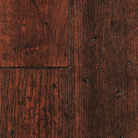Mullican Frontier Plank Hand Distressed Surface Cherry Sangria MUL FRO HDSAN5