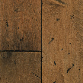 Mullican Frontier Plank Hand Distressed Surface Maple Tuscan Brown MUL FRO HDTUS5