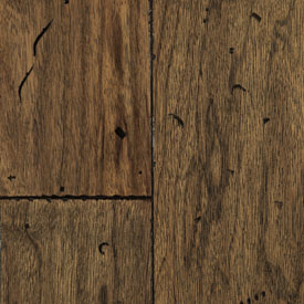 Mullican Frontier Plank Hand Distressed Surface Walnut Canyon Brown MUL FRO HDCAN5