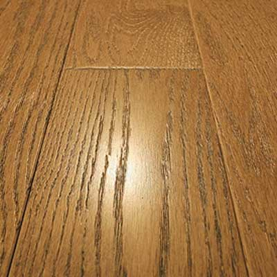 Mullican Frontier Wire Brushed Solid 4 Oak Butternut 13656
