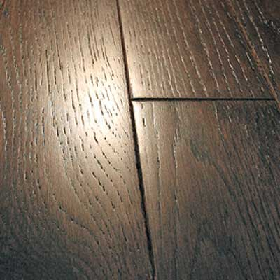 Mullican Frontier Wire Brushed Solid 5 Oak Midnight Cherry 13660
