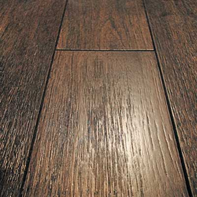 Mullican Frontier Wire Brushed Solid 4 Oak Walnut Ebony Brown 13668