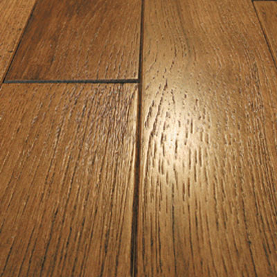 Mullican Frontier Wire Brushed Solid 4 Hickory Champange 13665
