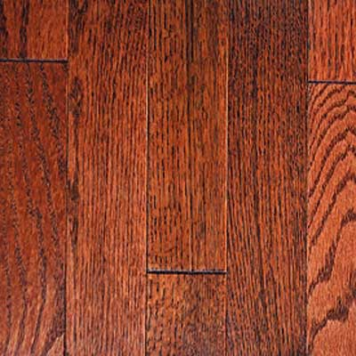 Mullican Muirfield - Four Sided Bevel 3 Oak Merlot 14726