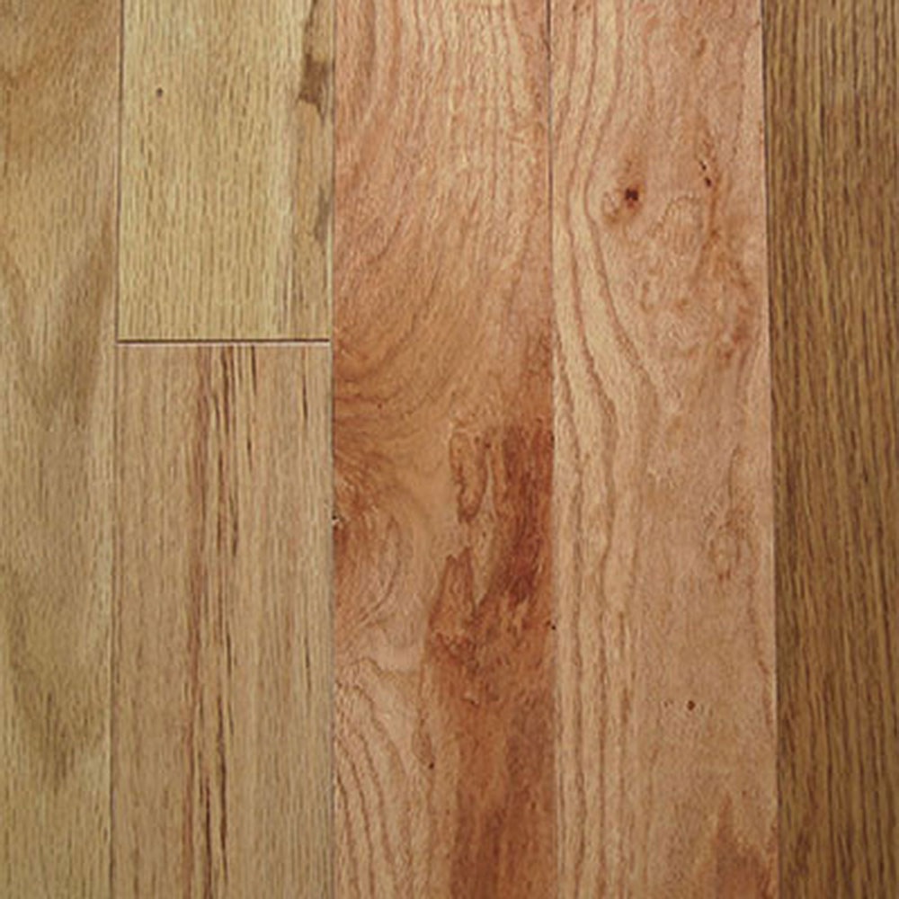 Mullican oak pointe 2 1 4 red oak natural for Natural red oak floors