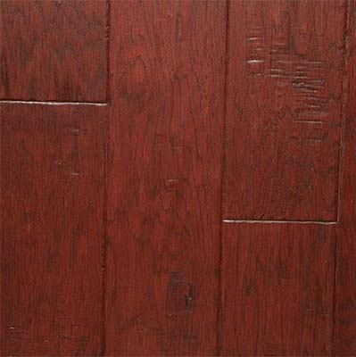 Nuvelle Bordeaux Collection Handscraped Hickory Buckeye