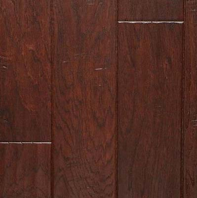 Nuvelle Bordeaux Collection Handscraped Hickory Cocoa