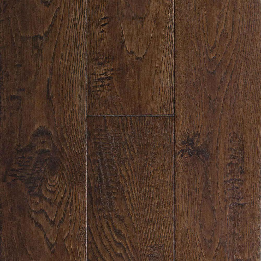 Somerset Handcrafted Engineered Random Width - White Oak Rustic Autumn