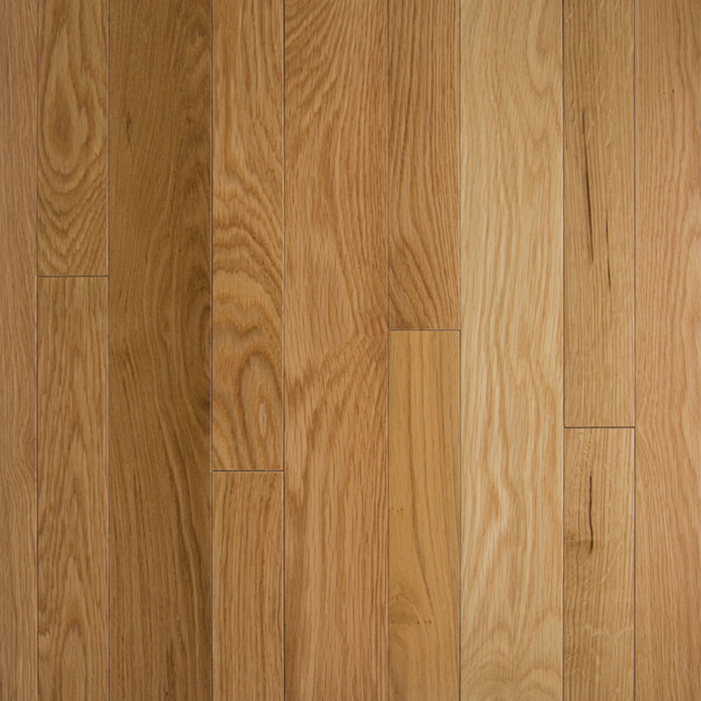 Somerset HomeStyle Collection Strip 2 1/4 Solid Natural White Oak PS2706B
