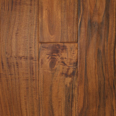 South Mountain Hardwood Santa Fe Engineered 4-3/4 Asian Walnut Champage NAHH12
