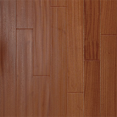 Stepco Exotics Handscraped Natural Sapele 208081