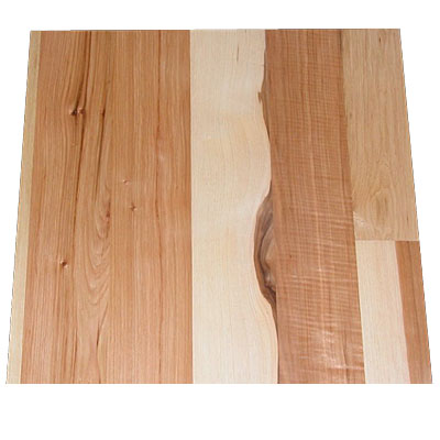 Stepco 6 Inch Eng Wide Plainsawn Hickory Common & Better - SPO