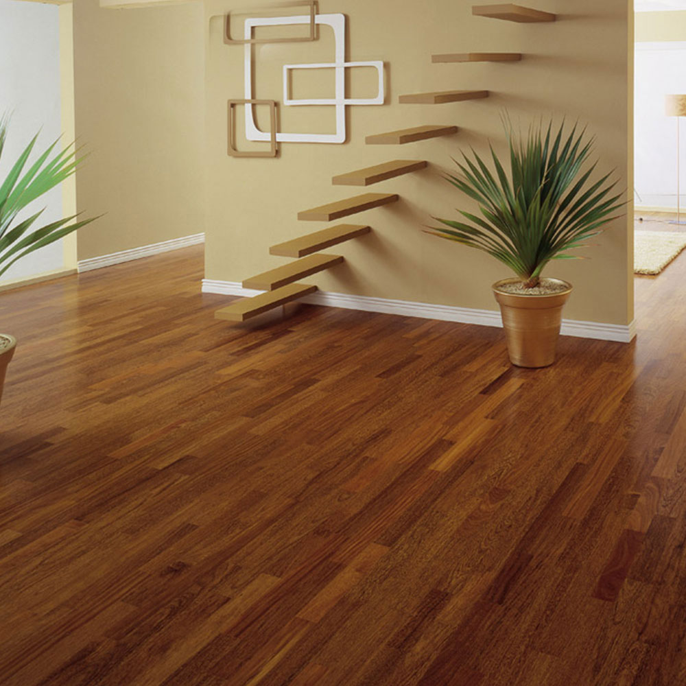 Triangulo Engineered 3/8 x 3-1/4 (200 Series) Brazilian Chestnut (Sucupira) ENGSU314