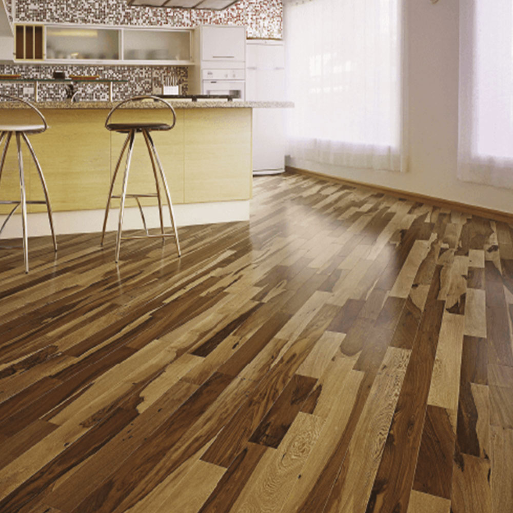 Triangulo Engineered 3/8 x 3-1/4 (200 Series) Brazillian Pecan (Guajuvira) ENGBP314