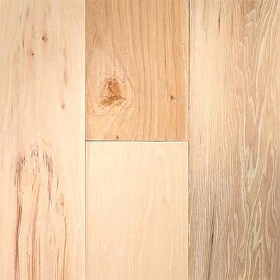 Virginia Vintage 5 inch Unfinished Solids Unfinished Hickory VSH5696