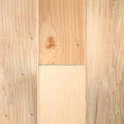 Virginia Vintage 5 inch Unfinished Engineered Unfinished Hickory viraa48237060