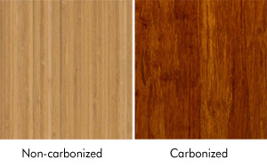 Non-Carbonized and Carbonized Bamboo