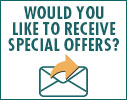Receive Special Offers