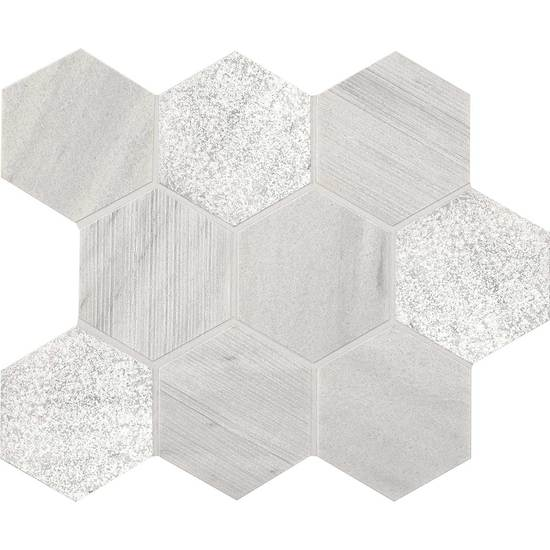 American Olean Stone Ascend Hexagon Mosaic 4 Candid Heather