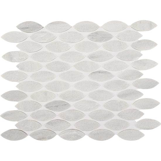 American Olean Stone Ascend Leaf Mosaic 1 x 2 Candid Heather