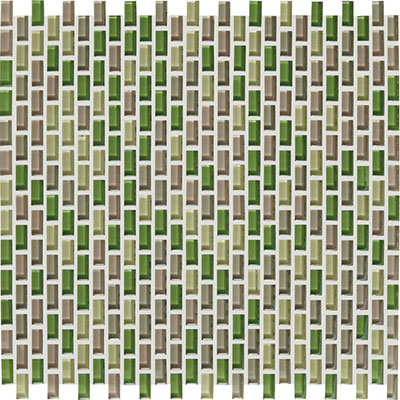 American Olean Color Appeal Renewal Chain Link Glass Mosaic Willow Brook
