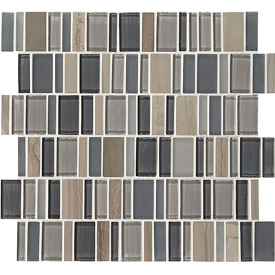 American Olean Jubiliance Entourage Marble and Glass Mosaic Joy