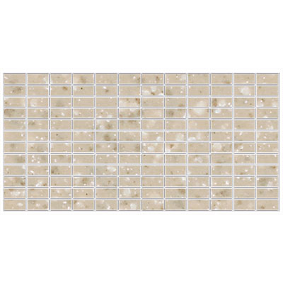 American Olean Unglazed Colorbody Mosaic 1 X 2 Willow Speckle