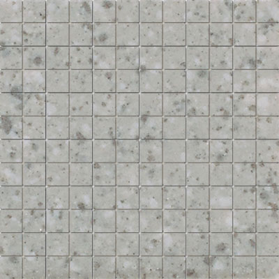American Olean Unglazed Porcelain Mosaics Clearface 1 x 1 Light Smoke Speckle