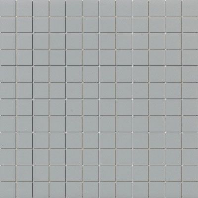 American Olean Unglazed Porcelain Mosaics Clearface 1 x 1 Light Smoke