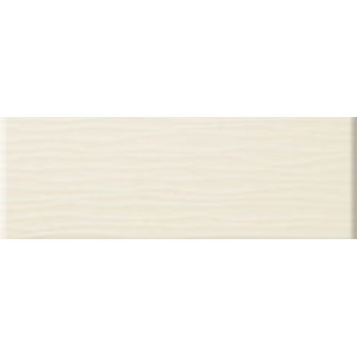 American Olean Urban Canvas Wave Matte 4 x 12 Biscuit