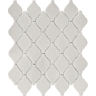 Anatolia Tile & Stone Soho Arabesque Mosaic Warm Grey