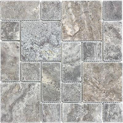 Anatolia Tile Amp Stone Travertine Mosaic Roman Random