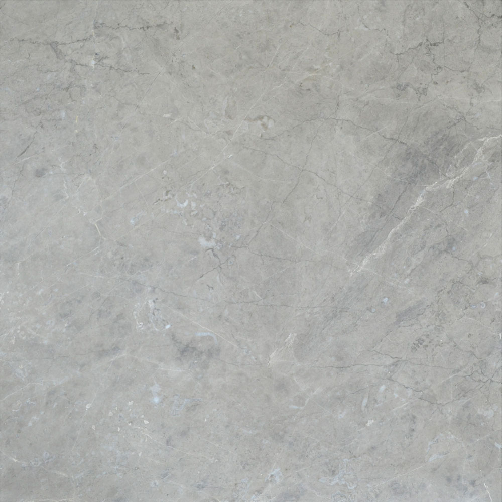 Atlantic Stone Source Marble 24 x 24 Polished Silver Grey