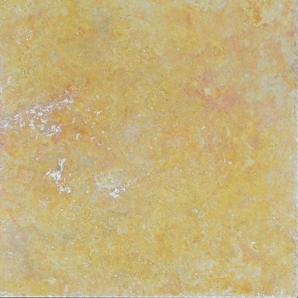 Atlantic Stone Source Travertine 18 x 18 Brushed and Chiseled Gold