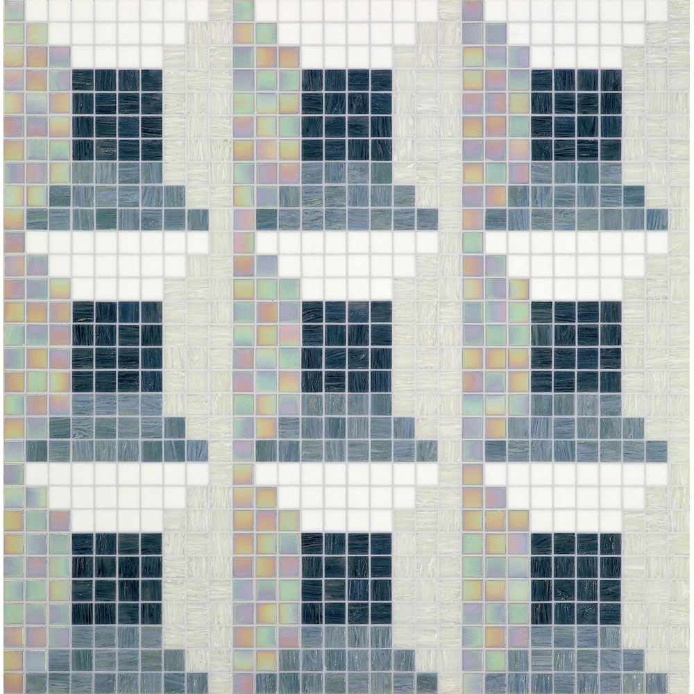 Bisazza Mosaico Decori 20 - Windows Windows Grey