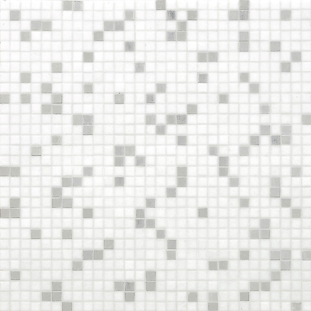 Bisazza Mosaico Blends 10 Princess White