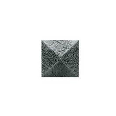 Daltile Armor 2 x 2 Dot Forged Steel 2 x 2 Pyramid