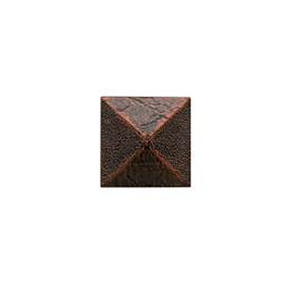 Daltile Armor 2 x 2 Dot Guilded Copper 2 x 2 Pyramid