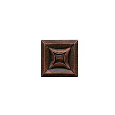 Daltile Armor 2 x 2 Dot Guilded Copper 2 x 2 Star