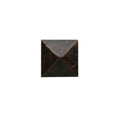 Daltile Armor 2 x 2 Dot Oil Rubbed Bronze 2 x 2 Pyramid