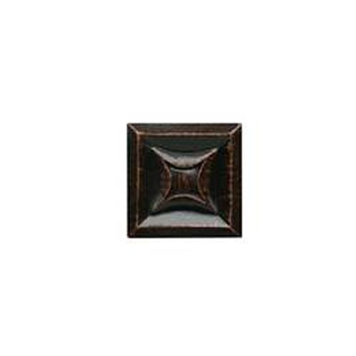 Daltile Armor 2 x 2 Dot Oil Rubbed Bronze 2 x 2 Star