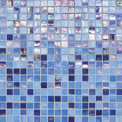 Daltile City Lights Glass Mosaic Capri