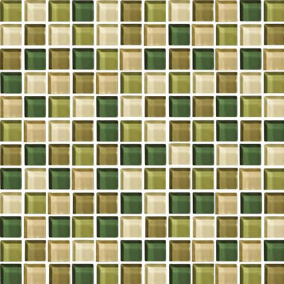 Daltile Blends 1 x 1 Rain Forest