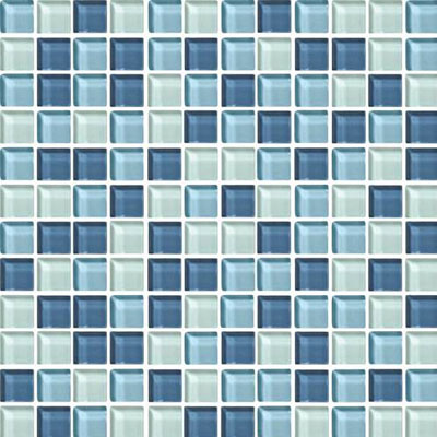 Daltile Blends 1 x 1 Winter Blues