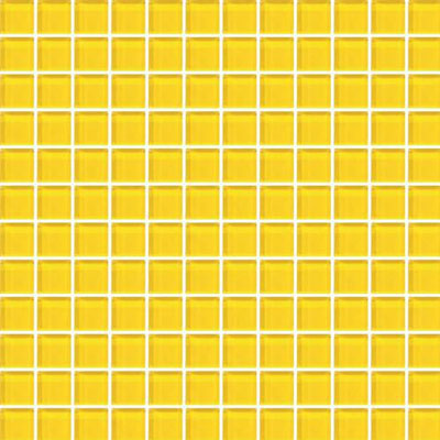 Daltile Vibrant Colors 3 x 6 Lemon Popsicle