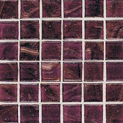 Daltile Elemental Glass Mosaic 3/4 x 3/4 Cranberry Crush