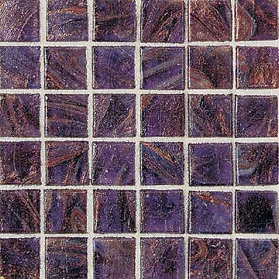Daltile Elemental Glass Mosaic 3/4 x 3/4 Grape Soda