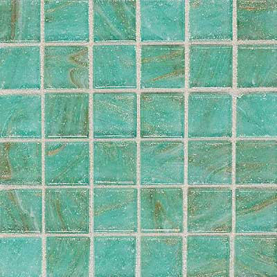 Daltile Elemental Glass Mosaic 3/4 x 3/4 Mint Julep