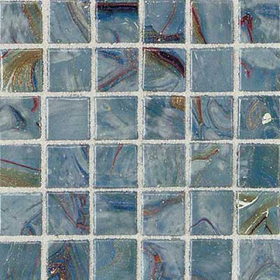 Daltile Elemental Glass Mosaic 3/4 x 3/4 Storm Clouds
